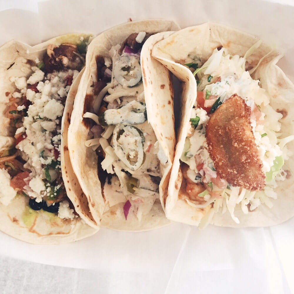 Food from The Sloppy Taco