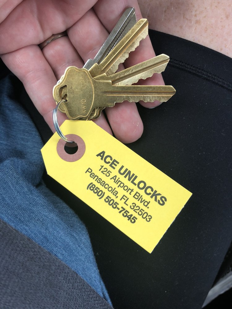Ace Unlocks: 125 Airport Blvd, Pensacola, FL