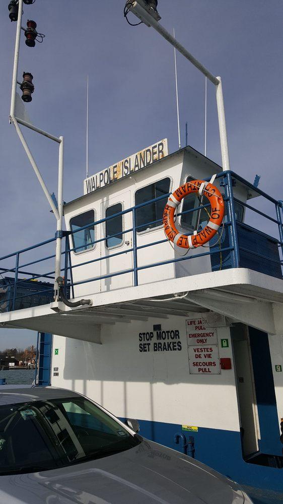 Walpole-Algonac Ferry Line: 202 Fruit St, Algonac, MI