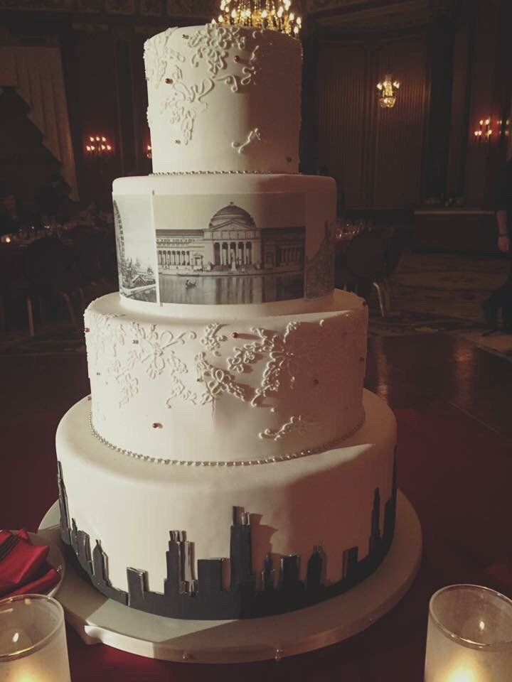 chicago il united states chicago history wedding cake at