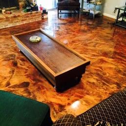 Photo Of Floor Doctor   McGregor, TX, United States. Residential Metallic  Epoxy Floor