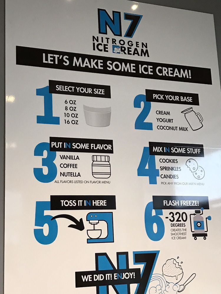N7 Nitrogen Ice Cream: 6526 Middle Rd, Bettendorf, IA