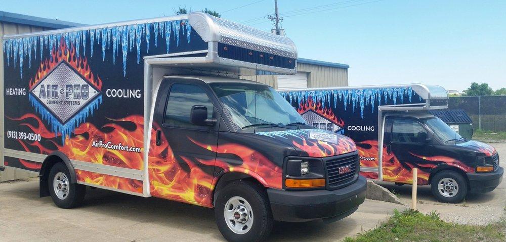 Air-Pro Comfort Systems: 1520 E Spruce St, Olathe, KS