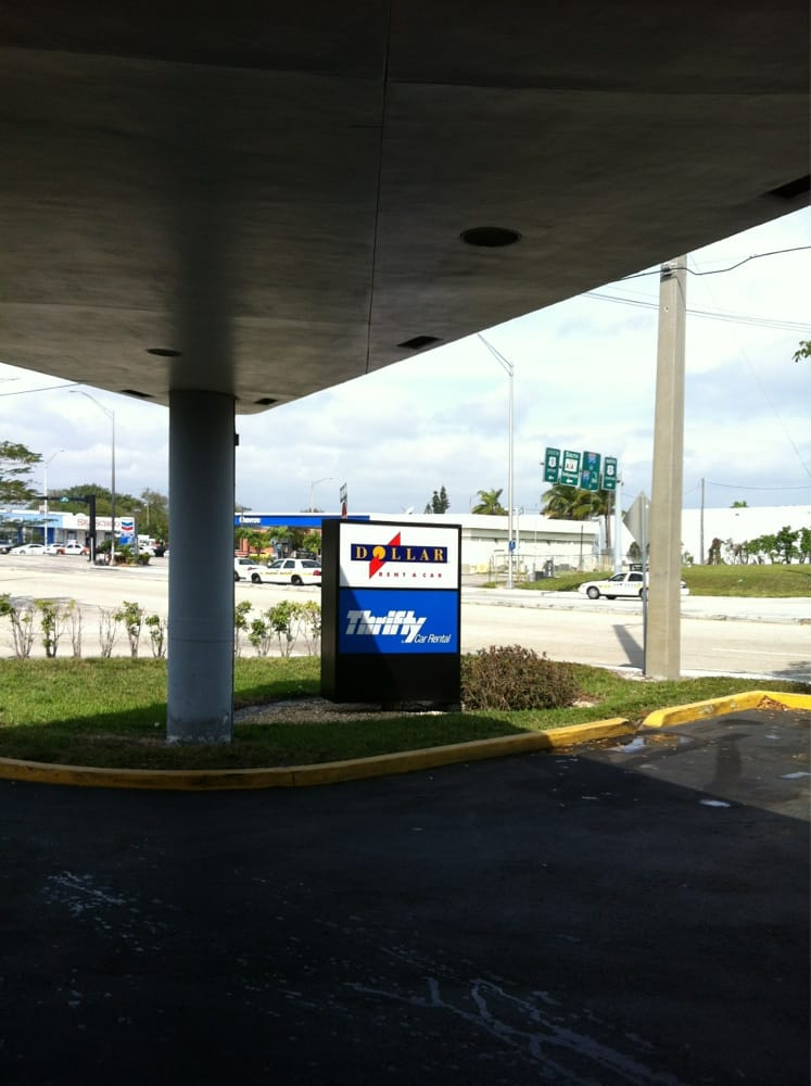 Thrifty car rental fort lauderdale florida airport