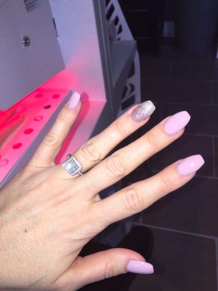 Ballerina shape nails - Yelp
