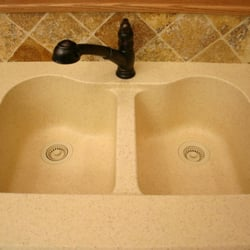Photo Of Carolina Custom Countertops   Charlotte, NC, United States. Molded  In Sink
