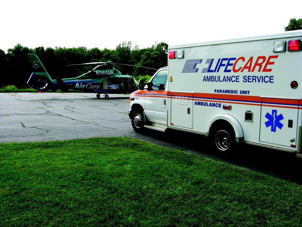 LifeCare Ambulance: 330 Hamblin Ave W, Battle Creek, MI