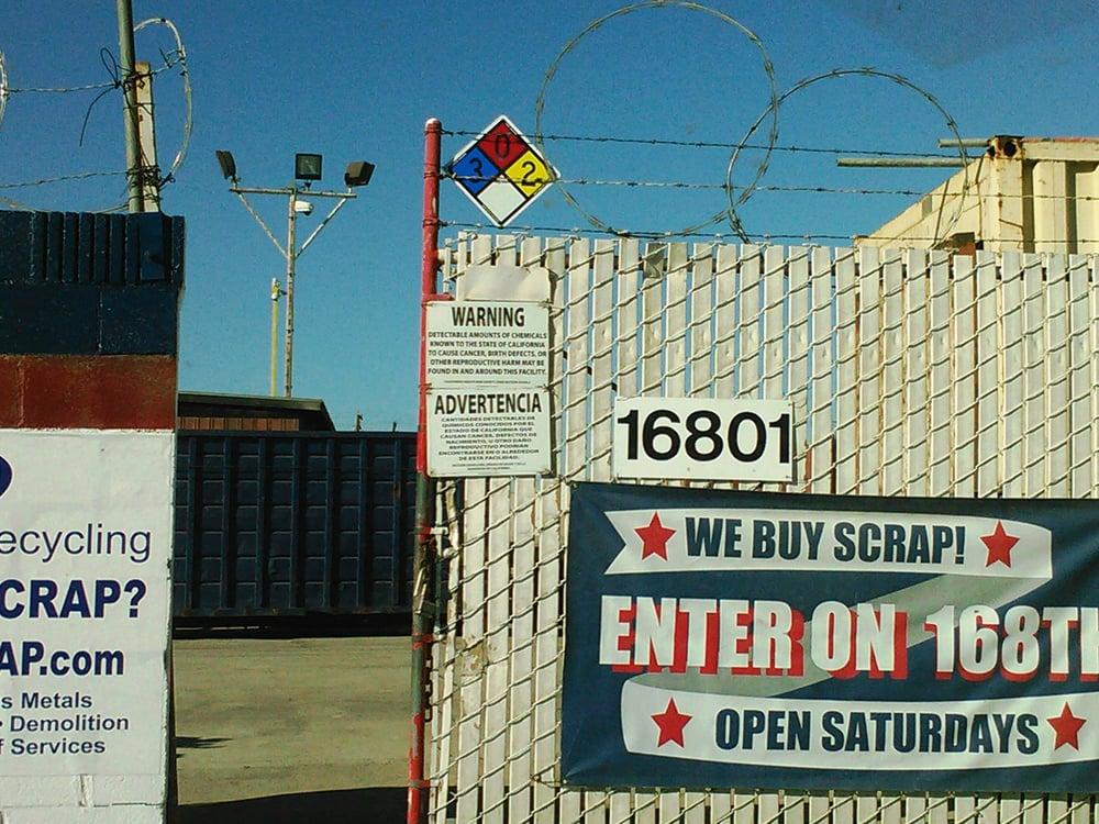 SA Recycling - 10 Photos - Recycling Center - 16815 S Main St ...