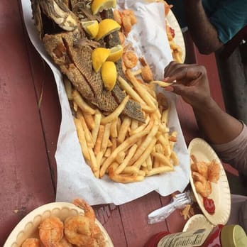 Photo Of Pier Eight Seafood Restaurant Seabrook Tx United States Fried Tilapia
