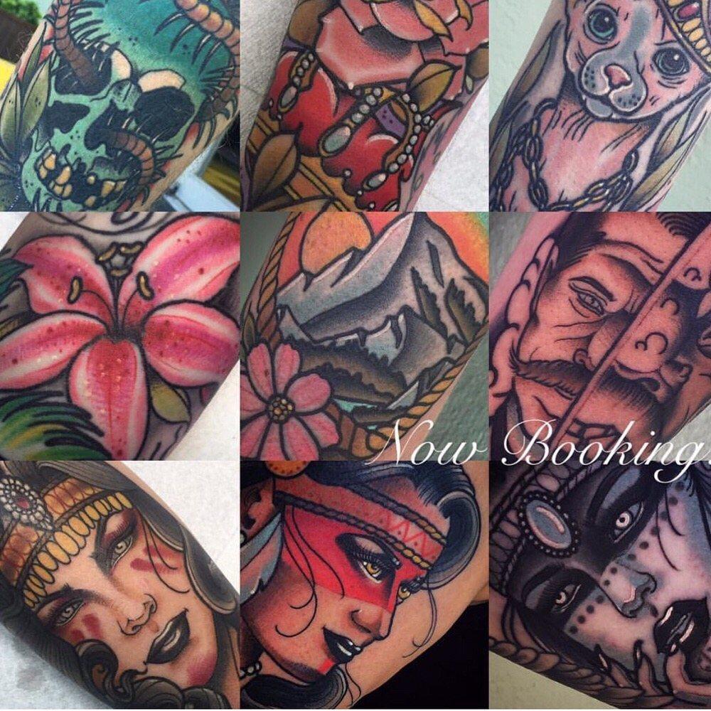 Tyler harrington at our second location anchor rose tattoo for Tattoo santa rosa