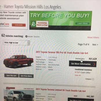 Nice Photo Of Hamer Toyota   Mission Hills, CA, United States. 61k For A