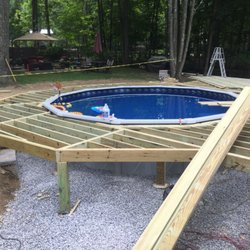 Photo of Creative Home Improvements - Newburgh, NY, United States. Pool deck
