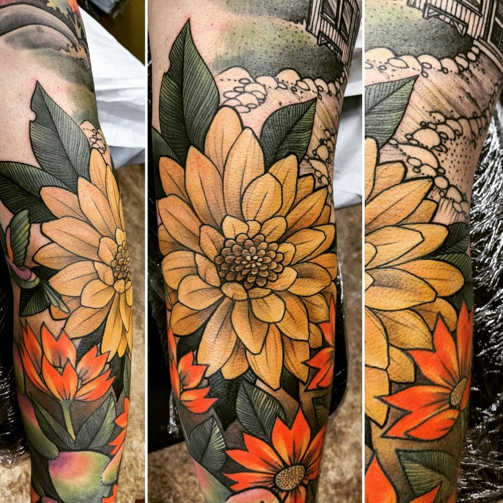 Endless Expansion Custom Tattoo: 1422 Velp Ave, Green Bay, WI