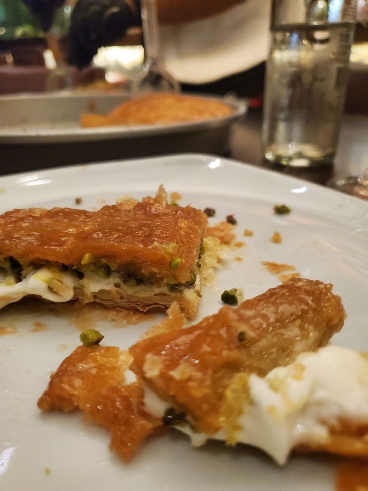 Food from Nusr-et Steakhouse