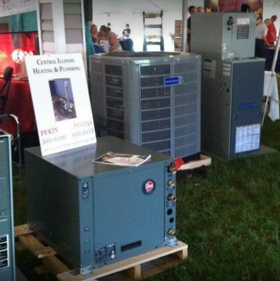 Central Heating & Air Conditioning - Heating & Air Conditioning/HVAC ...