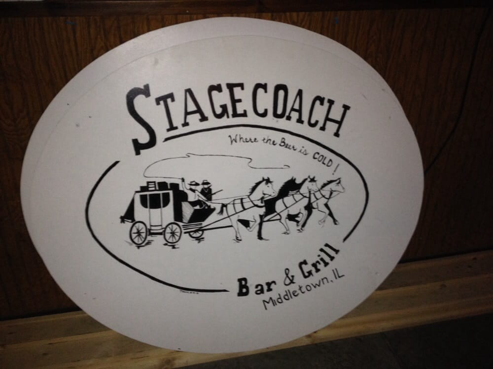 Stagecoach Bar & Grill: 104 S Madison St, Middletown, IL