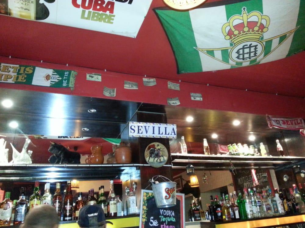 Caf Ef Bf Bd Sevilla  Rue Sainte Catherine Lyon