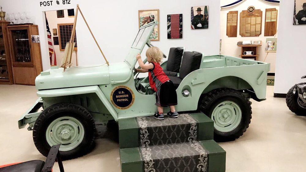 National Border Patrol Museum & Memorial Library: 4315 Transmountain Dr, El Paso, TX