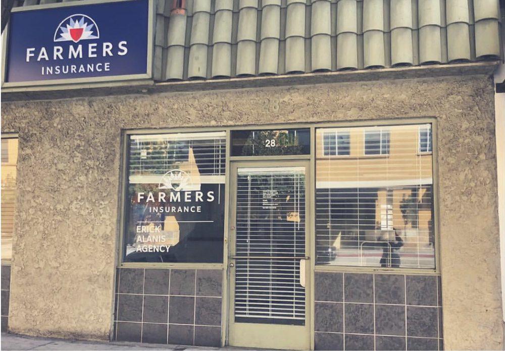 Farmers Insurance - Erick Alanis-Lopez   28 N Los Robles Ave, Pasadena, CA, 91101   +1 (626) 425-9942