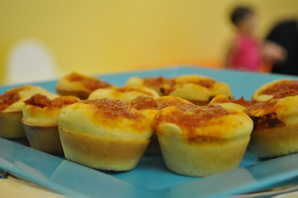 Pepperoni Corn Muffins made by 12-year olds - Yelp