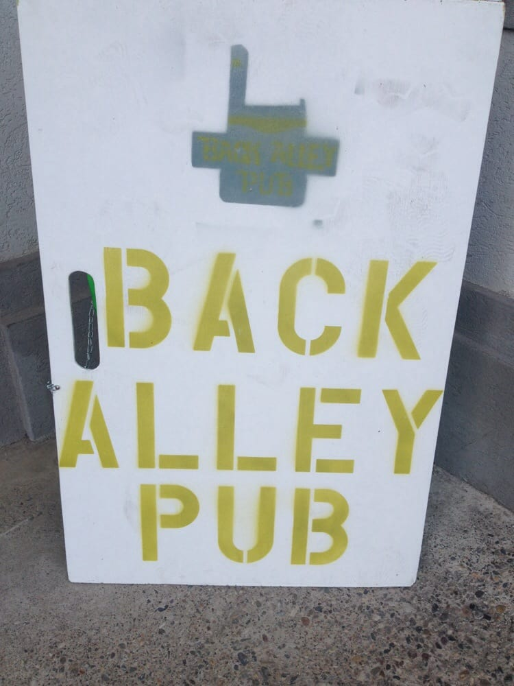 The Back Alley Pub: 112 Central Ave, Great Falls, MT