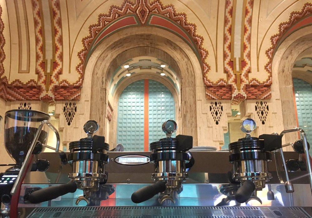 The Guardian Coffee Shop: 500 Griswold St, Detroit, MI