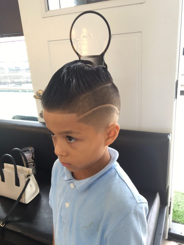 Side Part With An Undercut Haircut Yelp