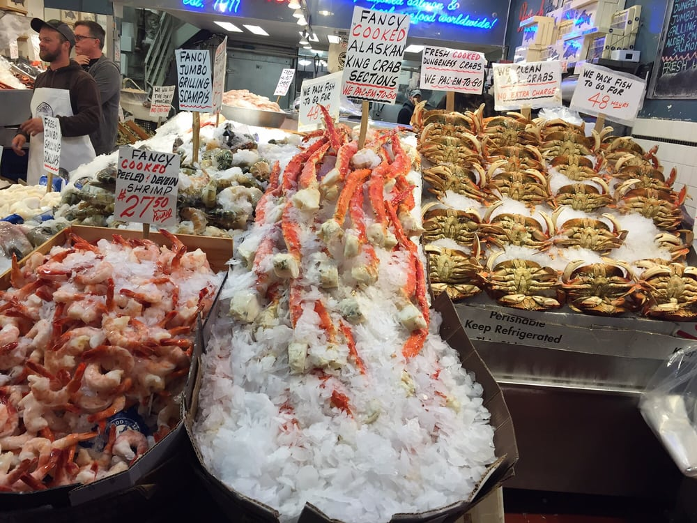 Big a king crab legs yelp for Pure food fish market