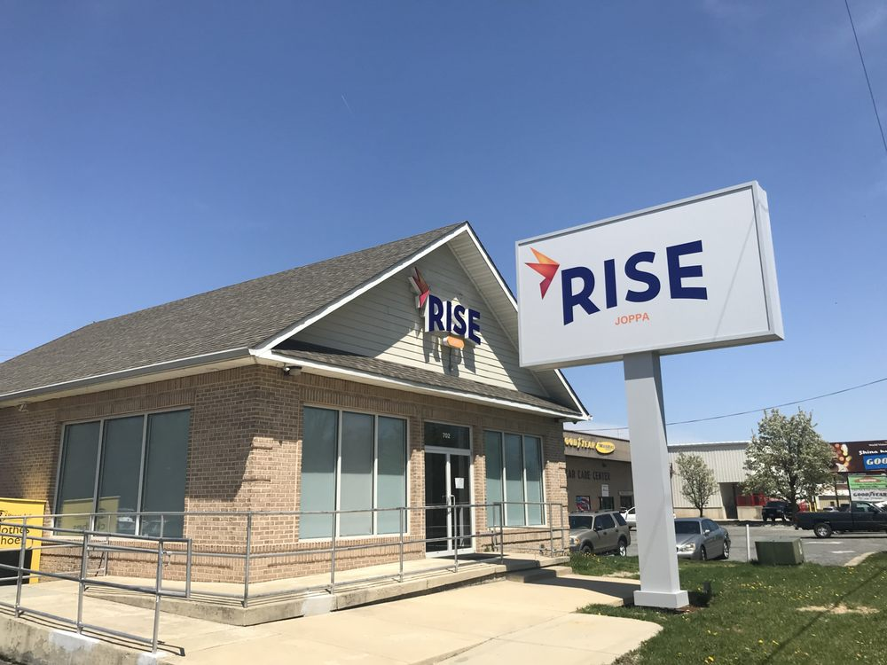 Rise Dispensaries - Joppa: 702 Pulaski Hwy, Joppa, MD