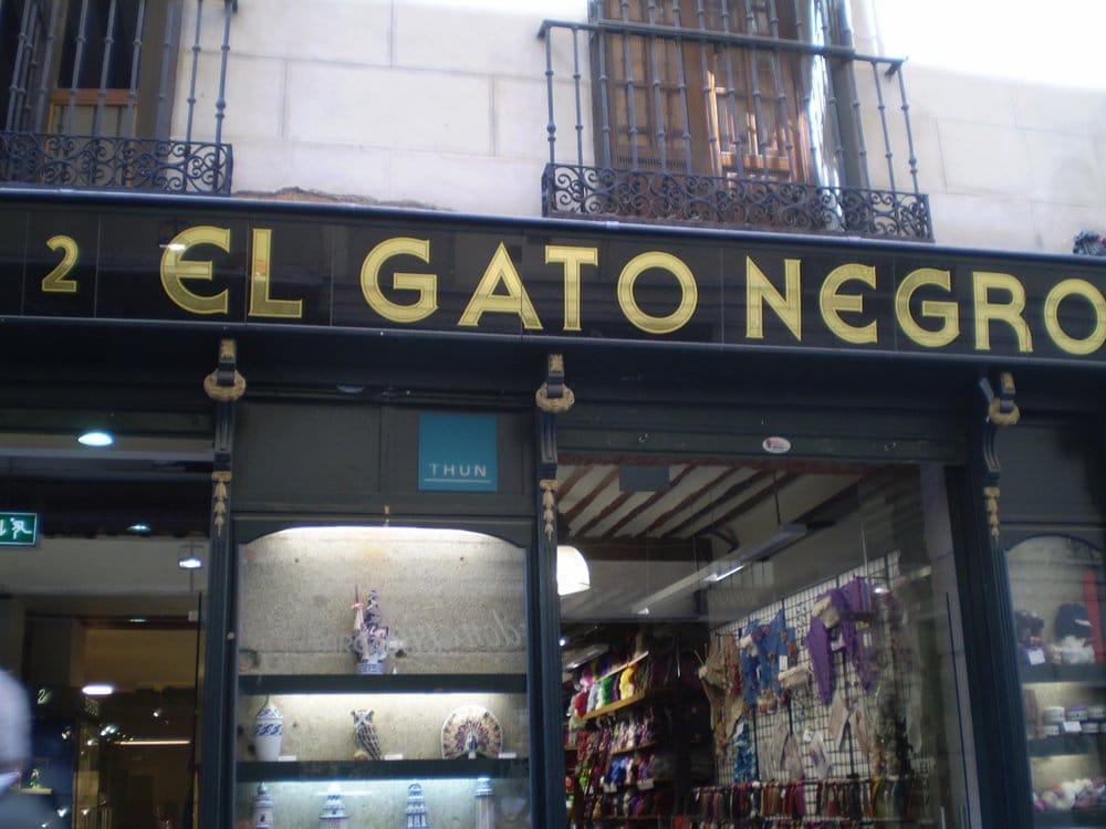 El gato negro mercerie e articoli per il cucito plaza - El gato negro decoracion ...