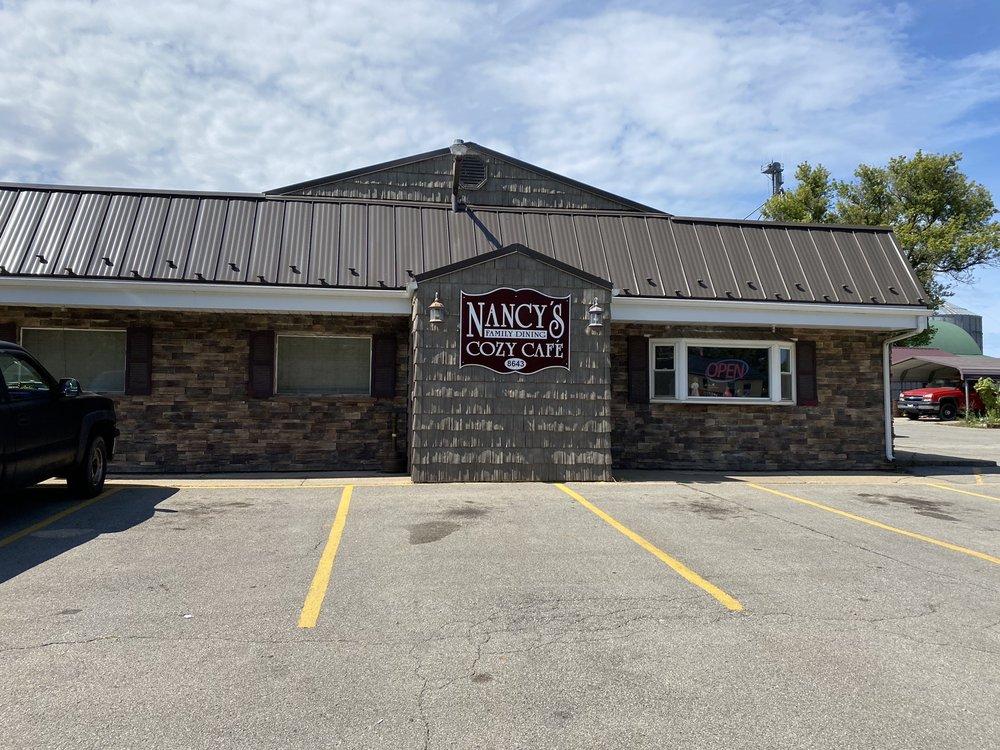 Nancy's Cozy Cafe: 8643 Main St, Kinsman, OH