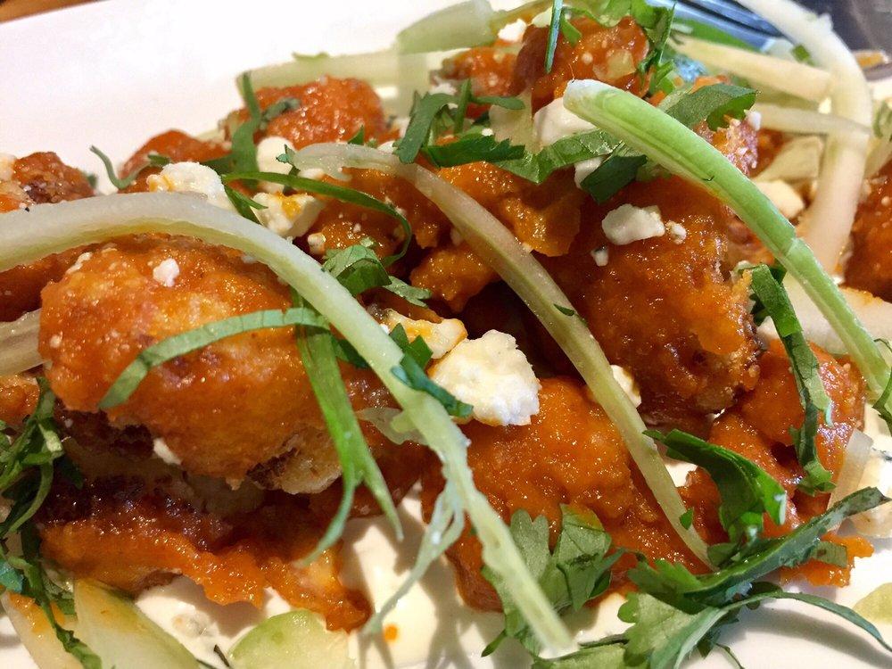 Photo Of California Pizza Kitchen   Bellevue, WA, United States. Spicy  Cauliflower