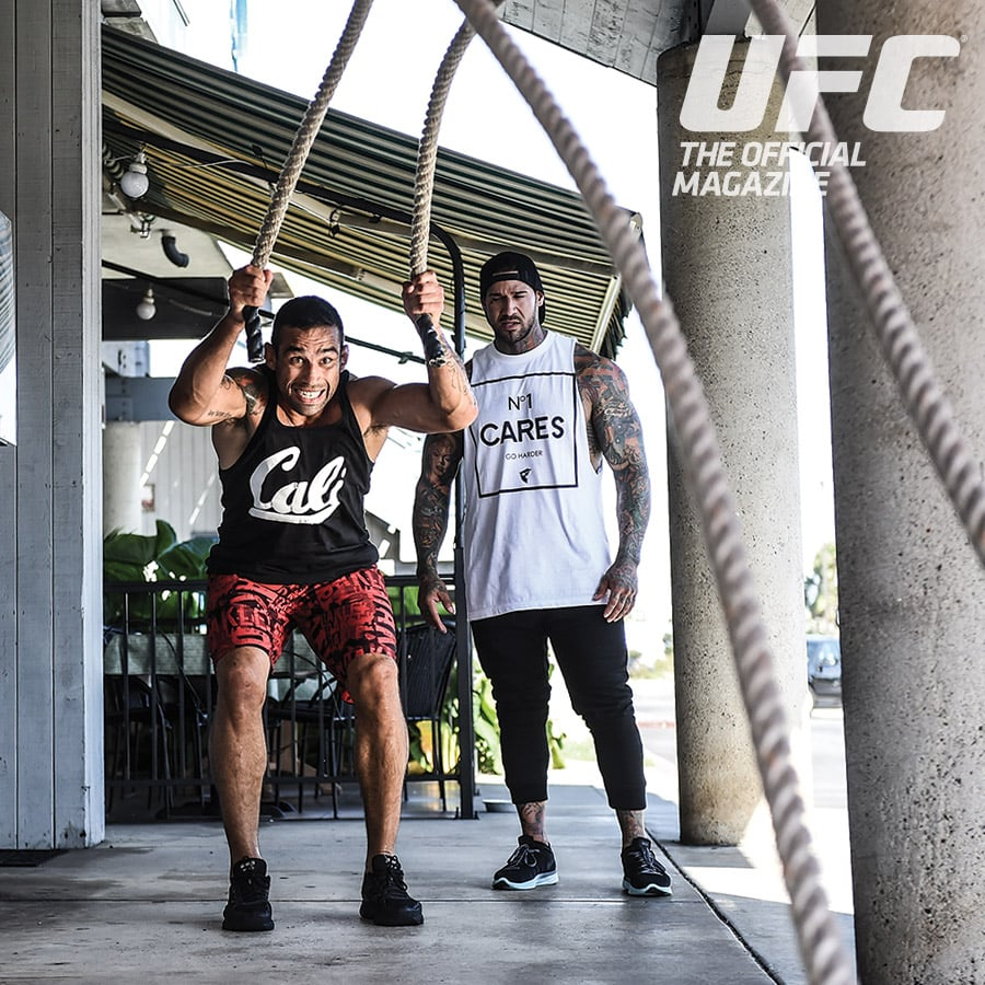 Michael Giovanni Rivera Training The Current UFC
