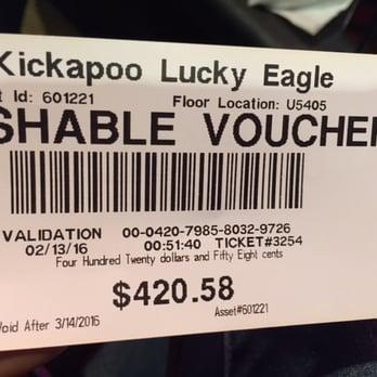 Kickapoo lucky eagle casino eagle pass tx names for slot machines