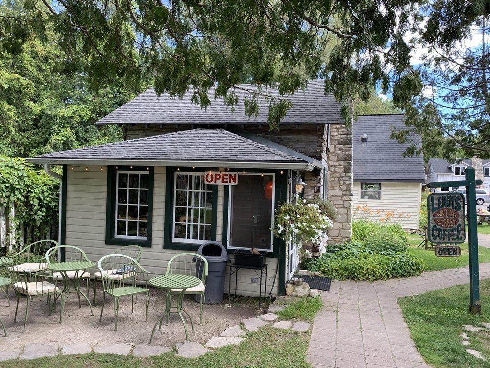 Leroy's Water Street Coffee: 9922 Water, Ephraim, WI