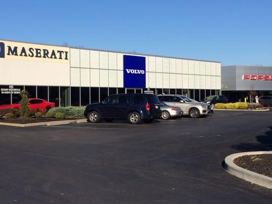 Volvo Cars Cincinnati East 4113 Plainville Road Oh Auto Repair Mapquest
