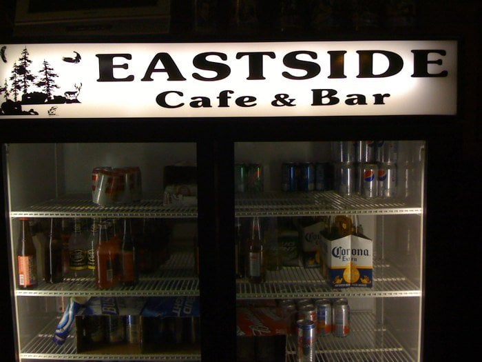 East Side Cafe & Bar: 121 Columbus Ave, Monroe, NE