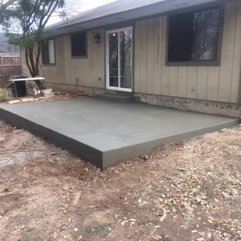 Photo Of Austin Concrete Construction   Austin, TX, United States. Patio  Slab,