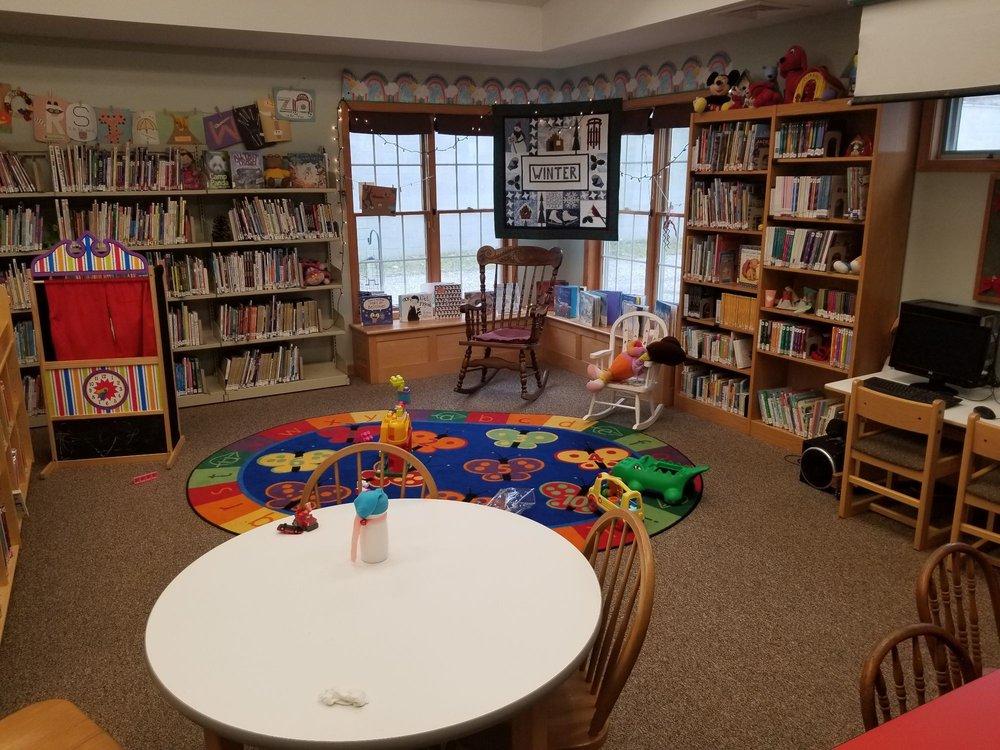 Corfu Free Library: 7 Maple Ave, Corfu, NY