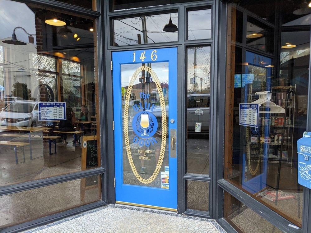 The Blue Door Bottleshop & Beer Hall: 146 3rd Ave E, Hendersonville, NC