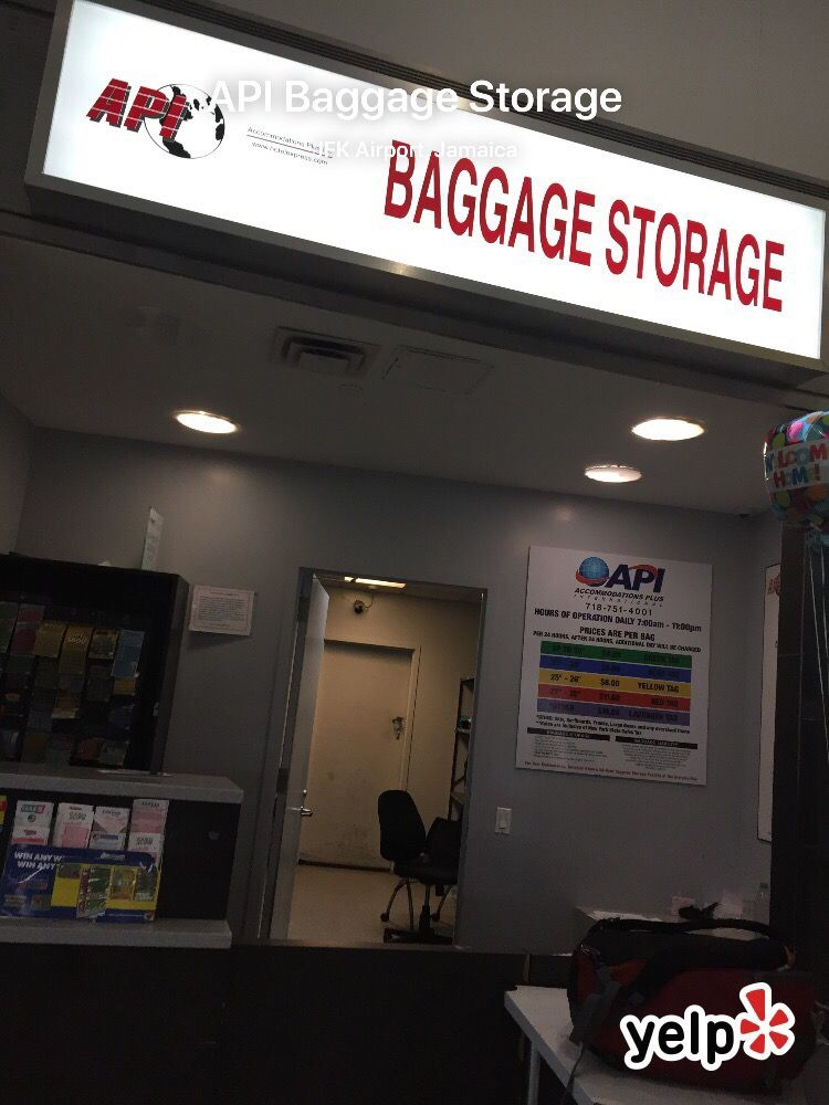 Api Baggage Storage 10 Reviews Luggage Storage