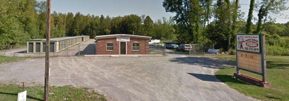 Maple Ridge Storage: 10307 Maple Ridge Rd, Middleport, NY
