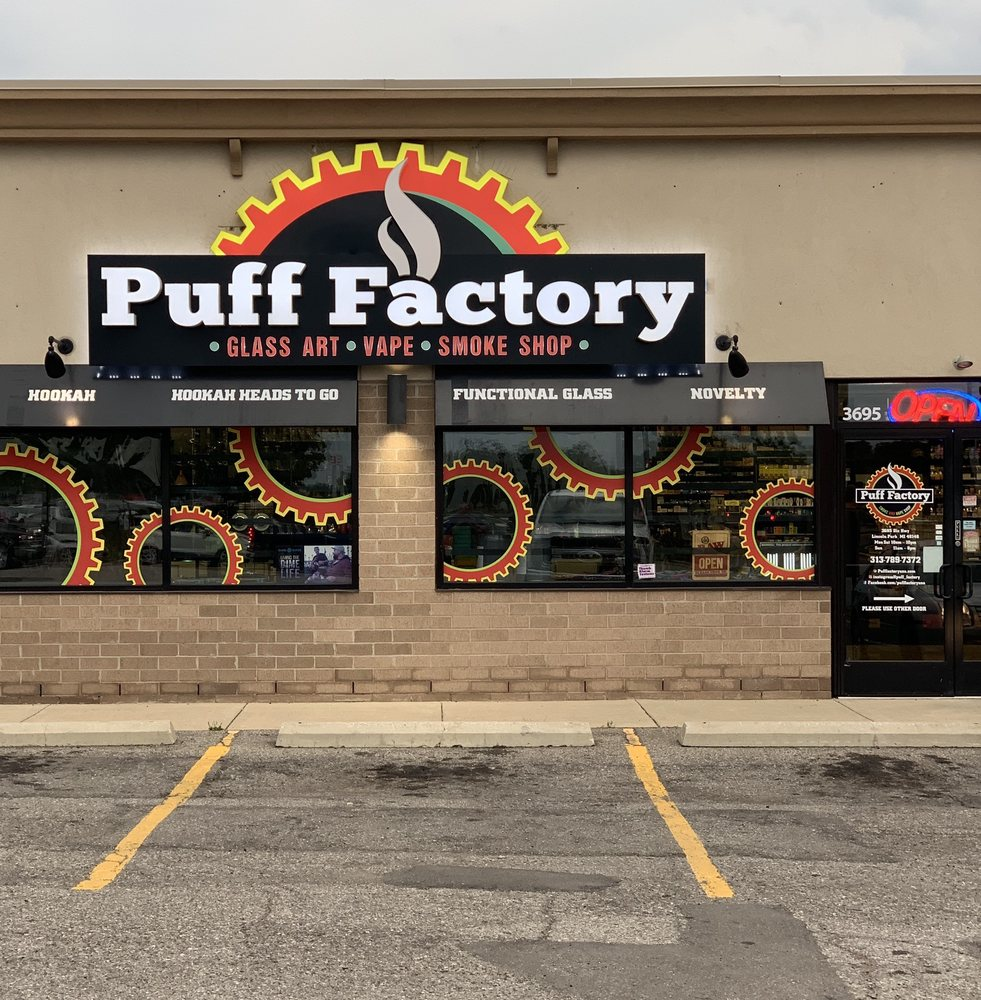 Puff Factory: 3695 Dix Hwy, Lincoln Park, MI