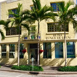 Photo Of Ponce De Leon Hotel C Gables Fl United States Historic
