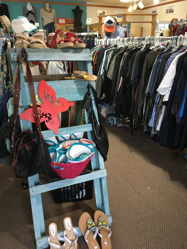 Thrifty Sisters Renewable Fashions: 63336 Boat Basin Rd, Charleston, OR