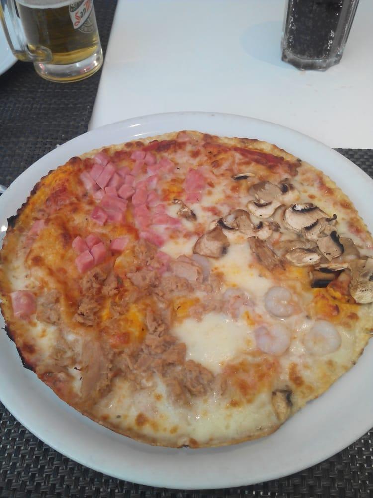 Pizza jardin pizzerie calle pensamiento 16 tetu n for Pizza jardin precios