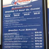 Owning a SpeeDee Oil Change & Tune-Up automotive franchise can be a lucrative business, but it does have some initial financial requirements. To open a single tune ups, lubes, & oil related location, the company requires that potential franchisees have liquid assets of at least $,