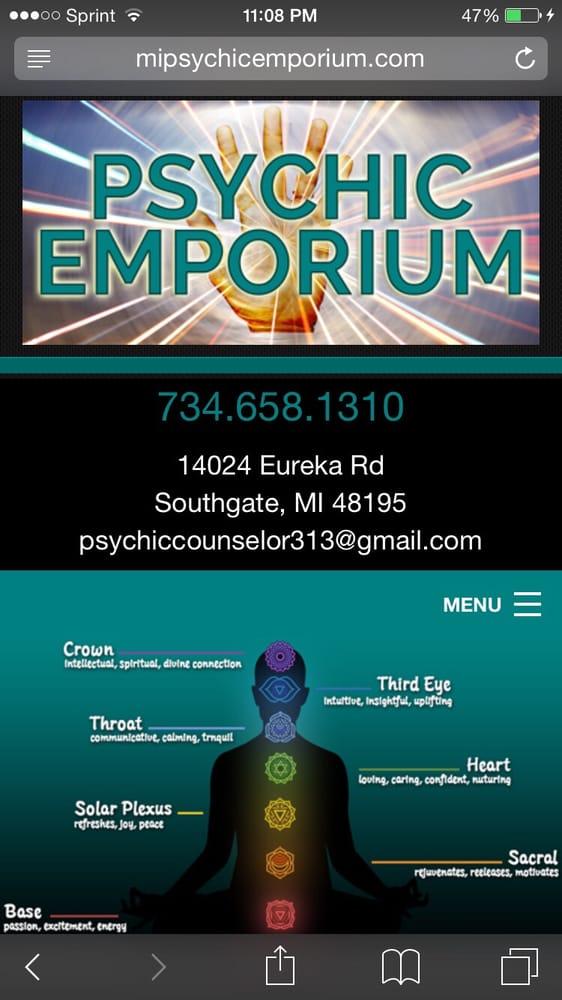 Psychic Emporium: 14024 Eureka Rd, Southgate, MI