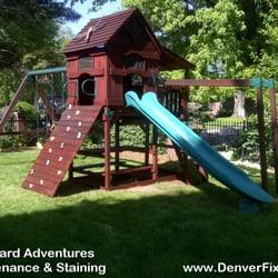 Photo Of Denver Fixit   Littleton, CO, United States. Backyard Adventures  Playset Maintain