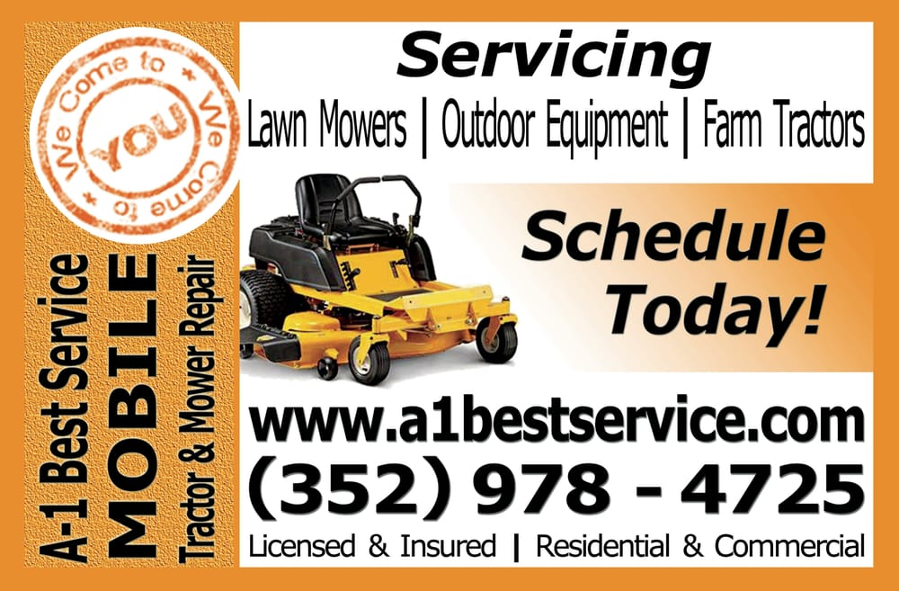 A 1 Best Service Mobile Tractor Amp Mower Repair 15 Photos